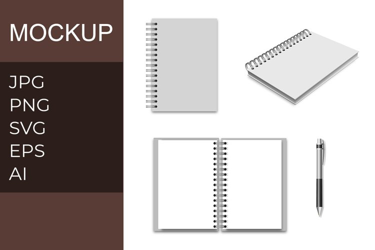 Note Mockup example