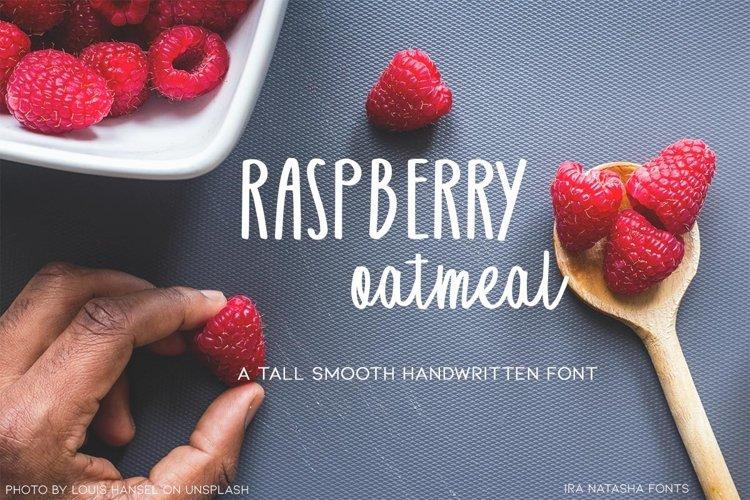 Raspberry Oatmeal example image 1