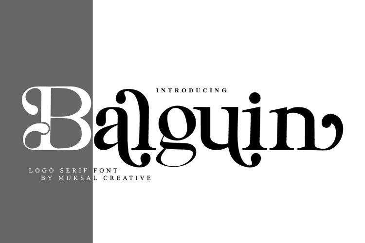 Balguin example image 1
