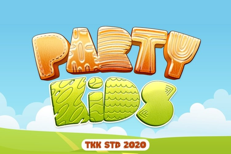 Party Kids - Gaming Font example image 1