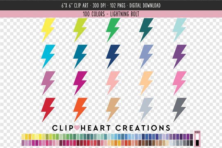 Lightning Bolt Clip Art - 100 Clip Art Graphics example image 1