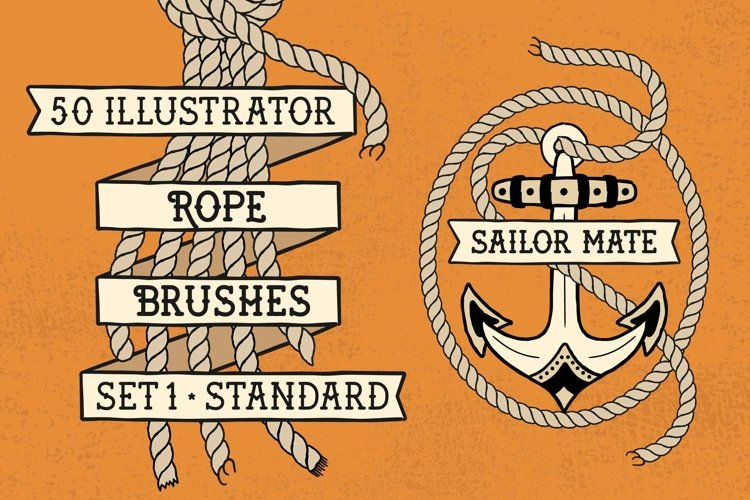 Sailor Mate's Rope Brushes I - Standard example image 1