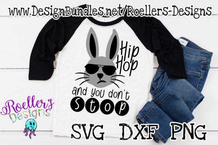 Easter SVG, Hip Hop Easter, Cricut Svg, Rabbit, Boy Easter example image 1