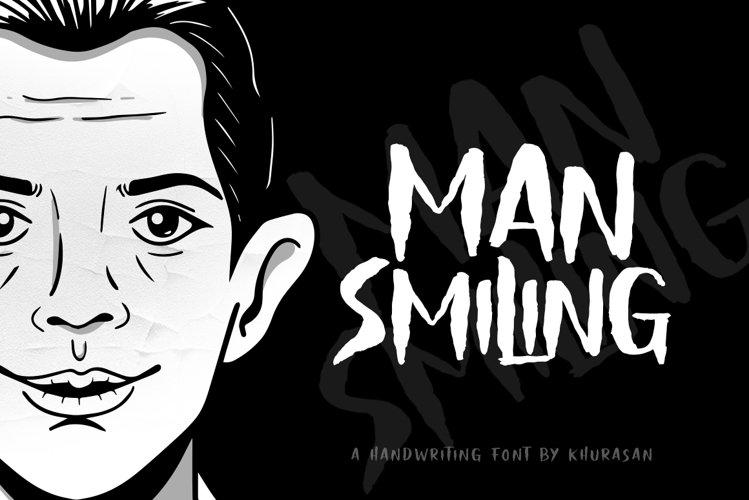 Man Smiling example image 1