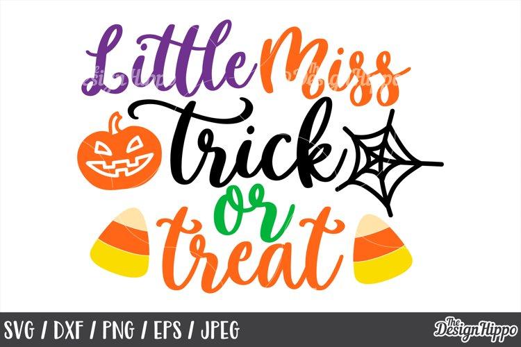 Little Miss Trick Or Treat Svg Halloween Candy Corn Svg 153117 Cut Files Design Bundles