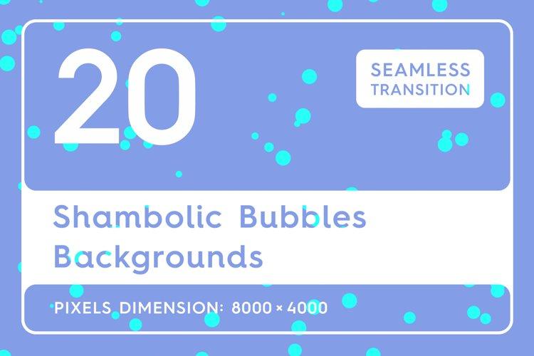 20 Shambolic Bubbles Backgrounds example image 1