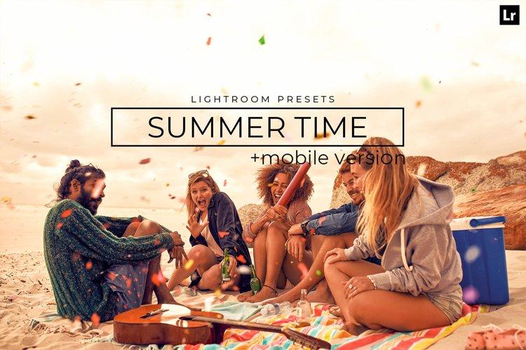 20 Summer Time Lightroom Presets example image 1
