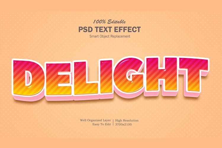 Delight Text Effect example image 1