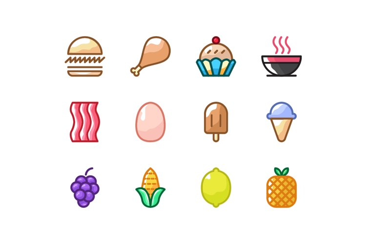 Food Icons example image 1