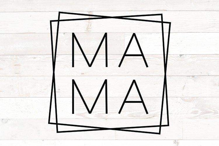 Mama svg for shirts, Mama svg, Mama square, mothers day svg