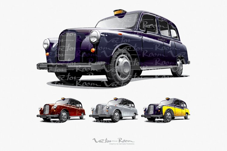 Classical London Taxi example image 1