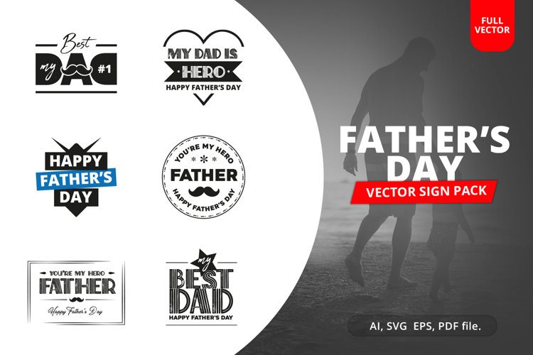 Fathers Day Sign Pack