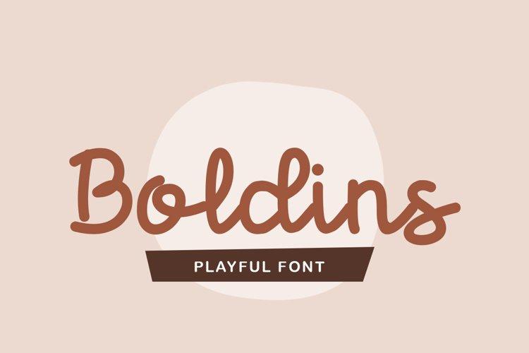 Boldins example image 1