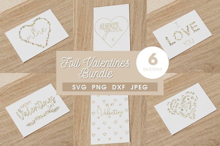 Foil Valentines Card SVG | Foil Quill file | Single Line SVG