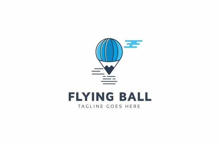 Flying Balloon Logo example image 1