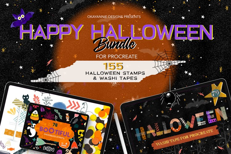 Happy Halloween Procreate Bundle