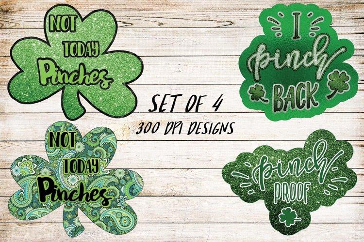 Saint Patrick's Day Design Bundle- Set of 4 example image 1