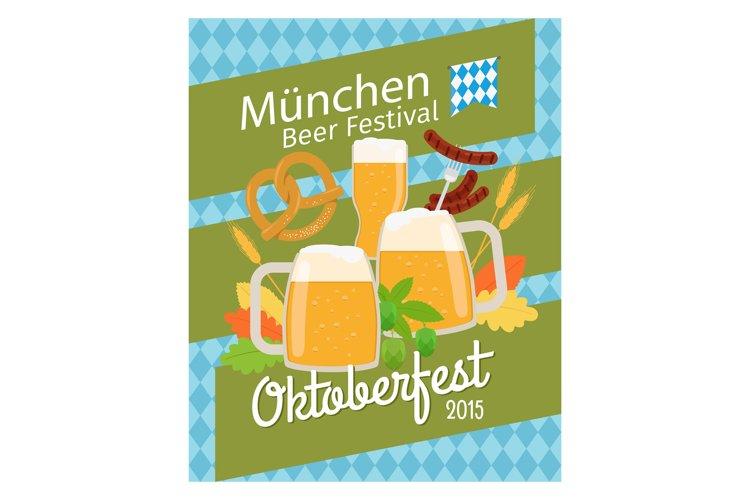 Download Oktoberfest 2015 Poster 768003 Illustrations Design Bundles