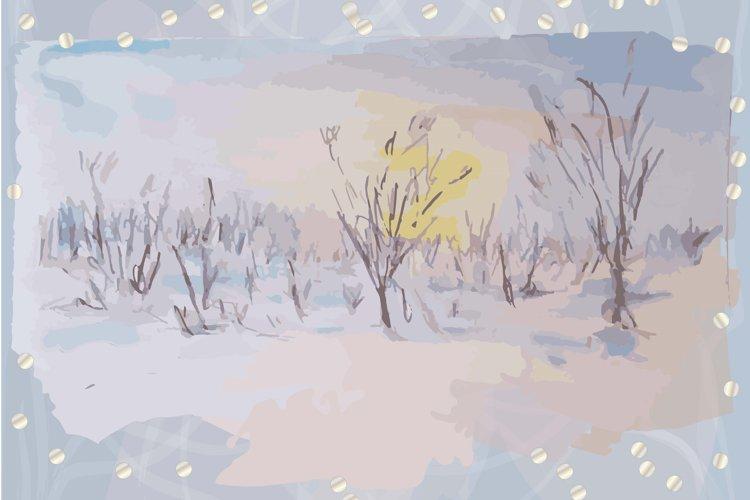 Winter Watercolor vol.2
