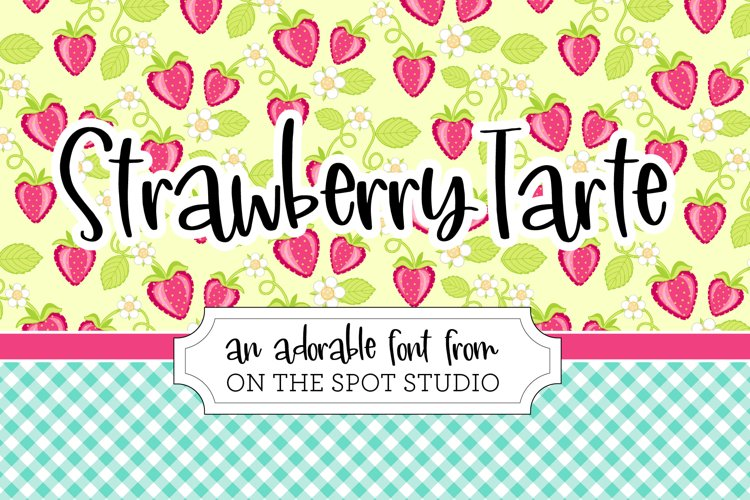 Strawberry Tarte example image 1
