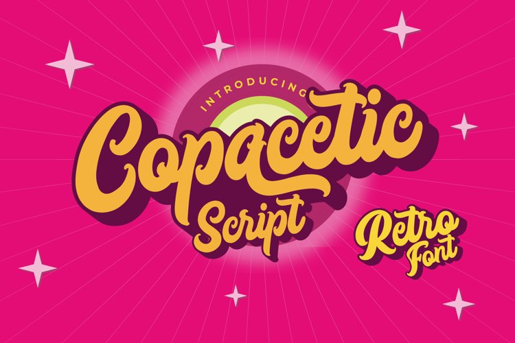 Copacetic - Layered Bold Script example image 1