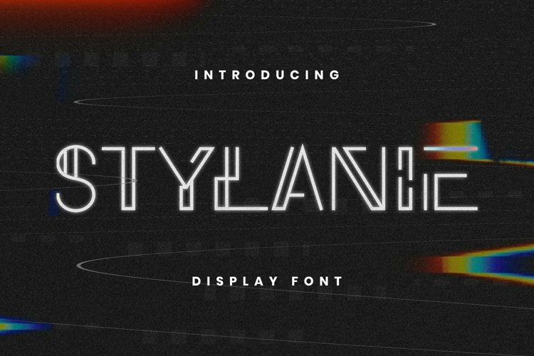 Web Font Stylanie Font example image 1