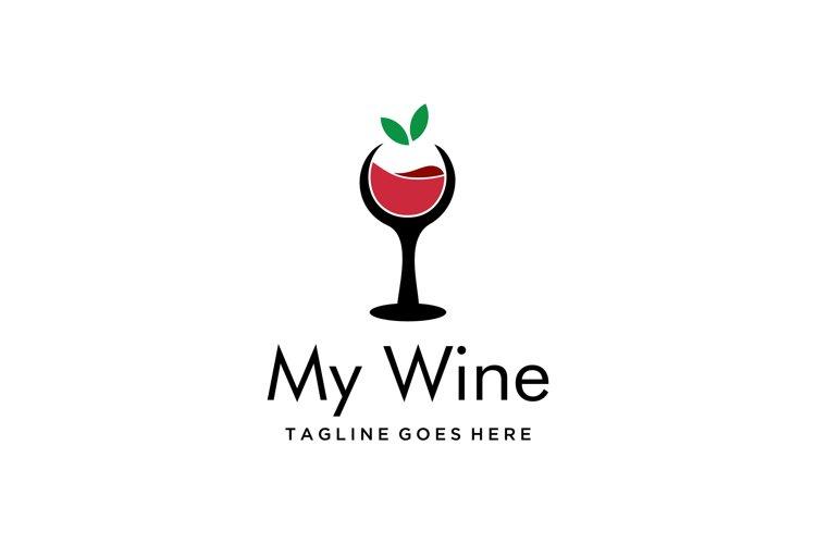 fresh wine on glass example image 1