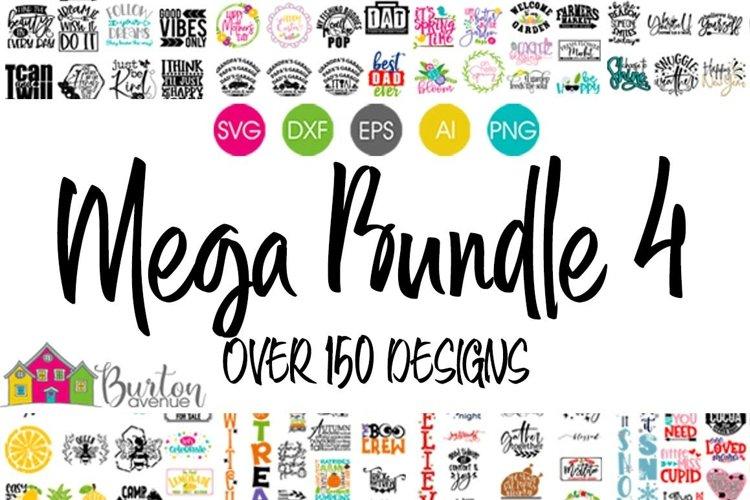 SVG Bundle | BA Mega Bundle 4 for Cricut & Silhouette