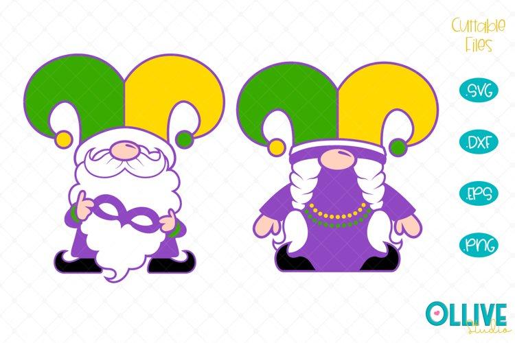 Download Gnomes Couple Mardi Gras Svg 460518 Cut Files Design Bundles