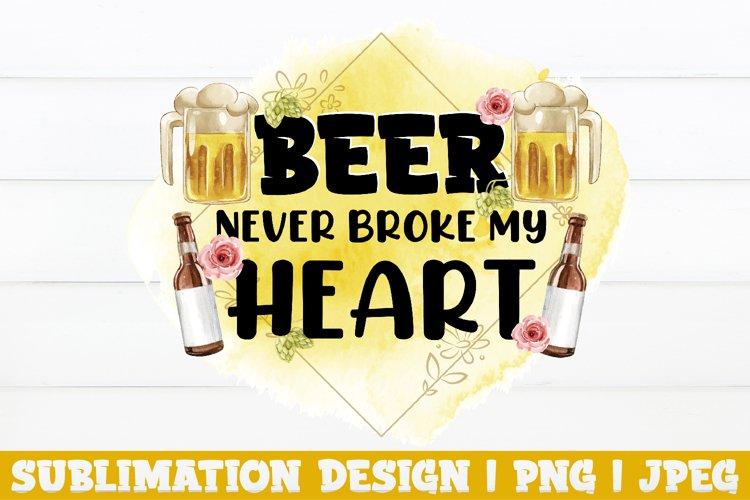 Beer Sublimation Design, Beer PNG, Beer Sublimation