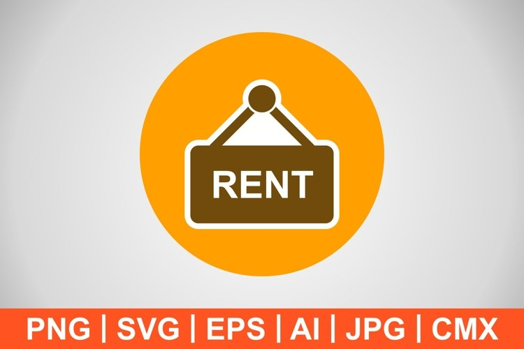 Vector Rent Icon example image 1