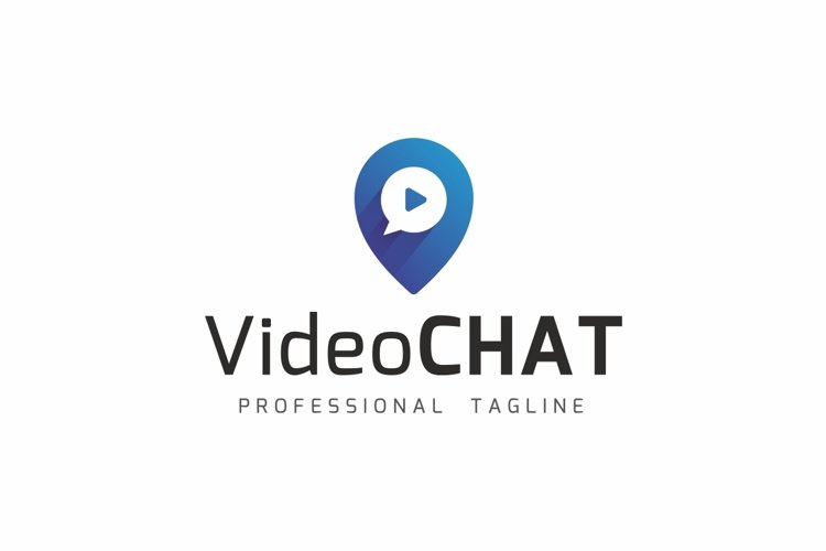 Video Chat Logo example image 1