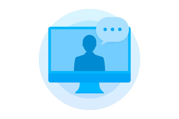 Online education, Video call, Learning tutorial, Internet example image 1