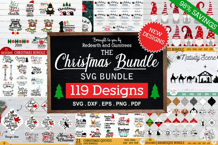 HUGE Christmas bundle SVG, quarantine quotes,arabesque,gnome