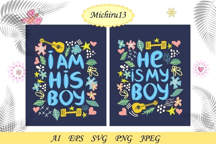 Pair lettering for men, boys who love boys, lgbt lettering example image 1