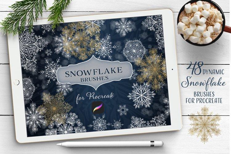 Enchanted Snowflakes - Procreate Brushes
