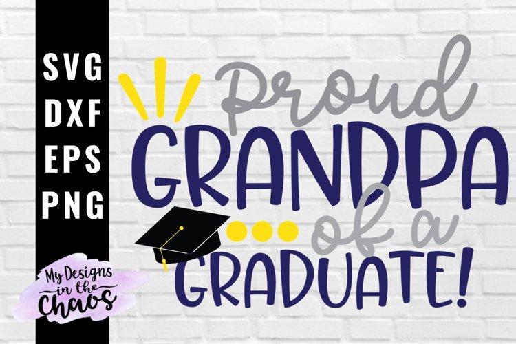 Graduation SVG EPS DXF PNG   Graduate Grandma SVG example image 1