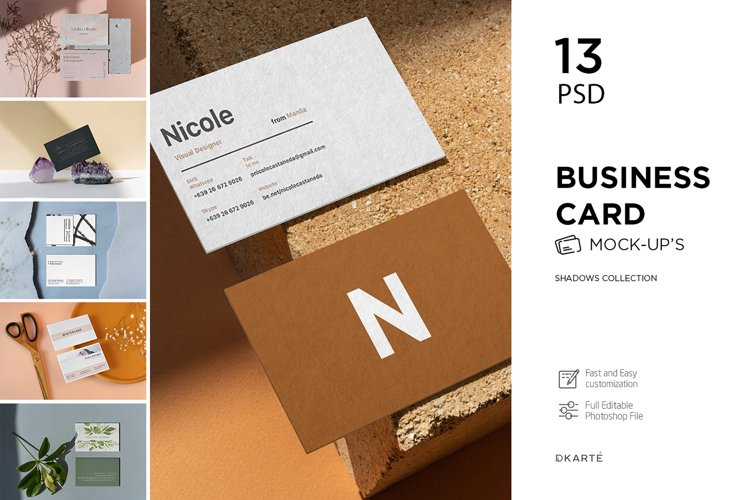 Business Card Mock-Up example image 1