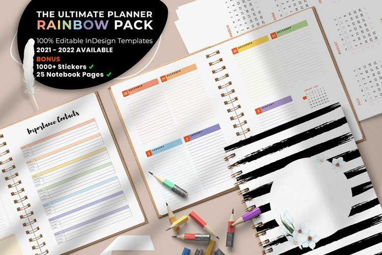 The Ultimate Planner Rainbow Pack