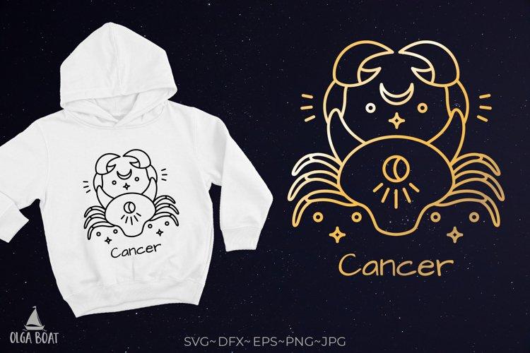Cancer zodiac crab svg Sea animals svg Zodiac keychain