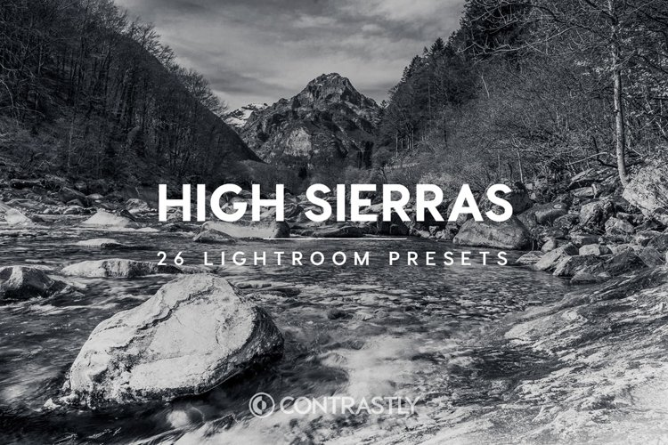High Sierras Lightroom Presets example image 1