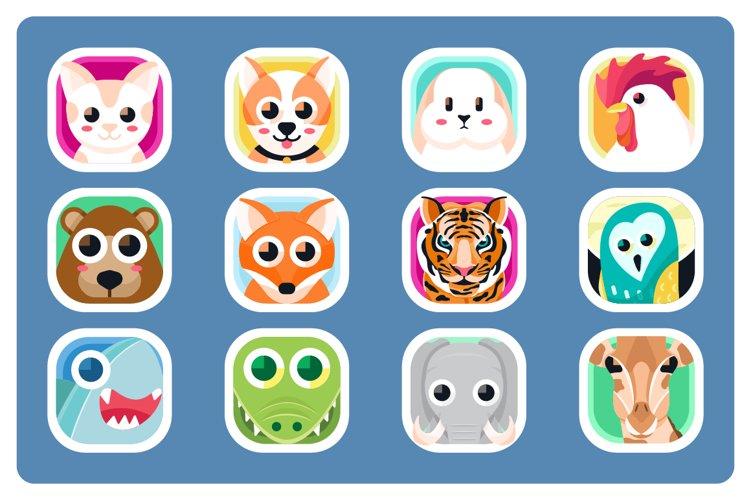 Animal App Icons example image 1