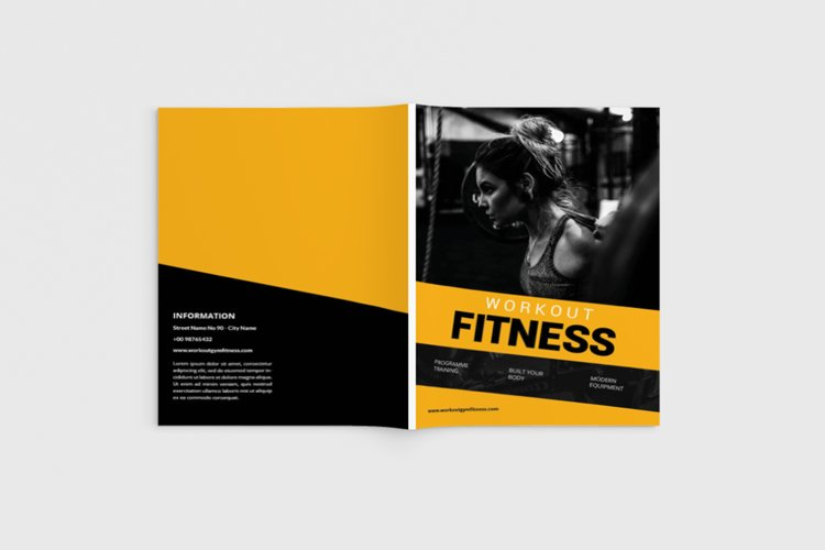 Fitnes Brochure example image 1