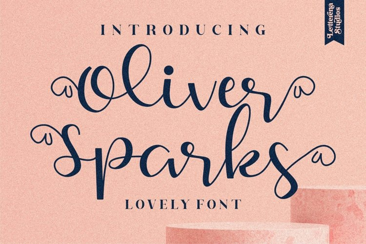 Oliver Sparks - Beautiful Script Font example image 1