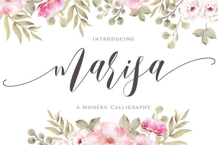 marisa Script Fonts example image 1