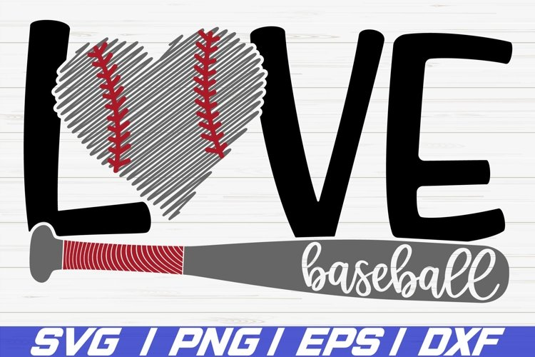 Download Love Baseball Svg Cricut Cut File Silhouette Dxf 517213 Cut Files Design Bundles