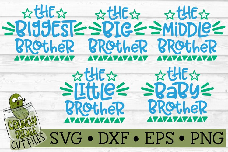 Brothers SVG Cut File