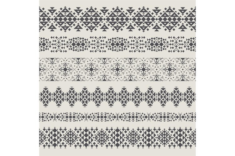 Tribal seamless pattern example image 1