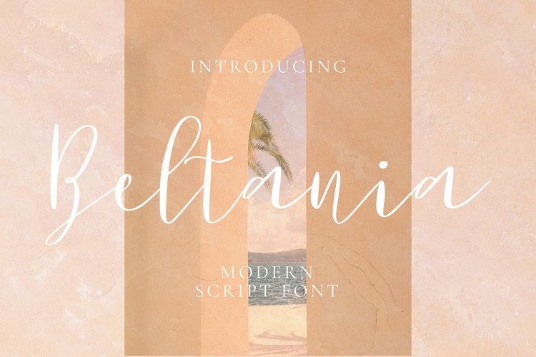 Beltania Font example image 1