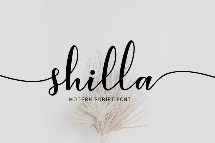 shilla Script example image 1